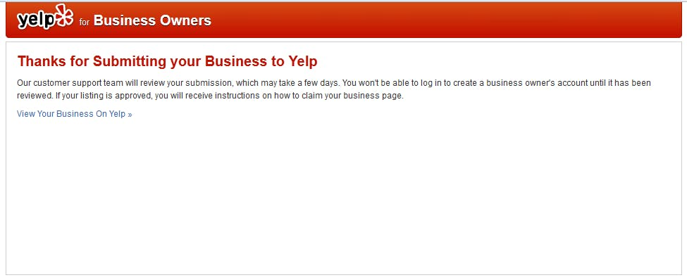 Physical Therapy Websites on Yelp Step 6