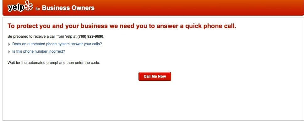 Verify Your Physical Therapy Listing on Yelp
