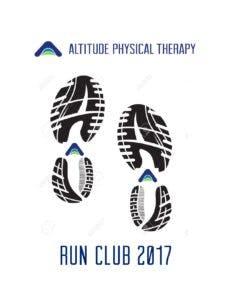 run club logo footprint
