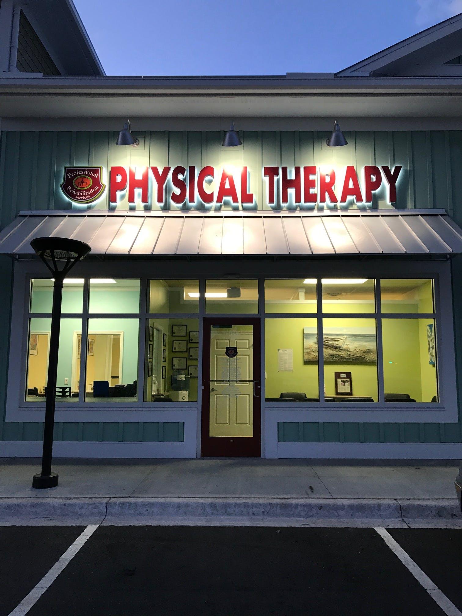 Professional Rehabilitation Services | Physical Therapy | Prince Creek Publix Village Shops | Murrells Inlet SC