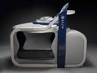AlterG Anti-Graviy Treadmill promo shot