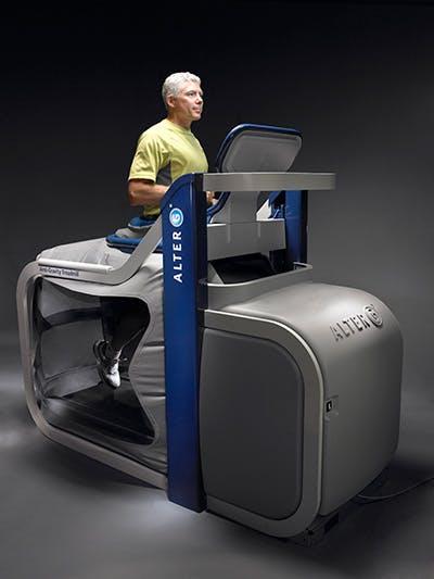 Alter-G Anti-Graviy Treadmill promo shot