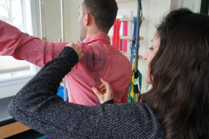 Moussia Evaluating Range of Motion for Shoulder