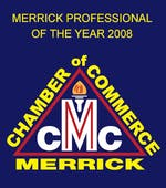 Merrick Chamber of Commerce Professional of the Year 2008