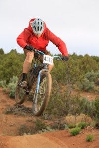 John ripping it up on the 12 Hours of Mesa Verde course.
