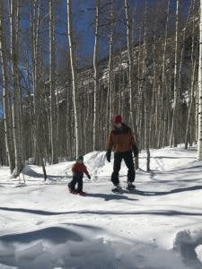 Snowshoeing for any age!