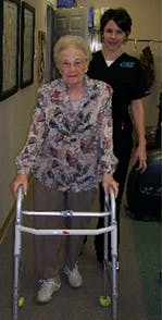 Patient photo Mrs. Breeden and Ellen