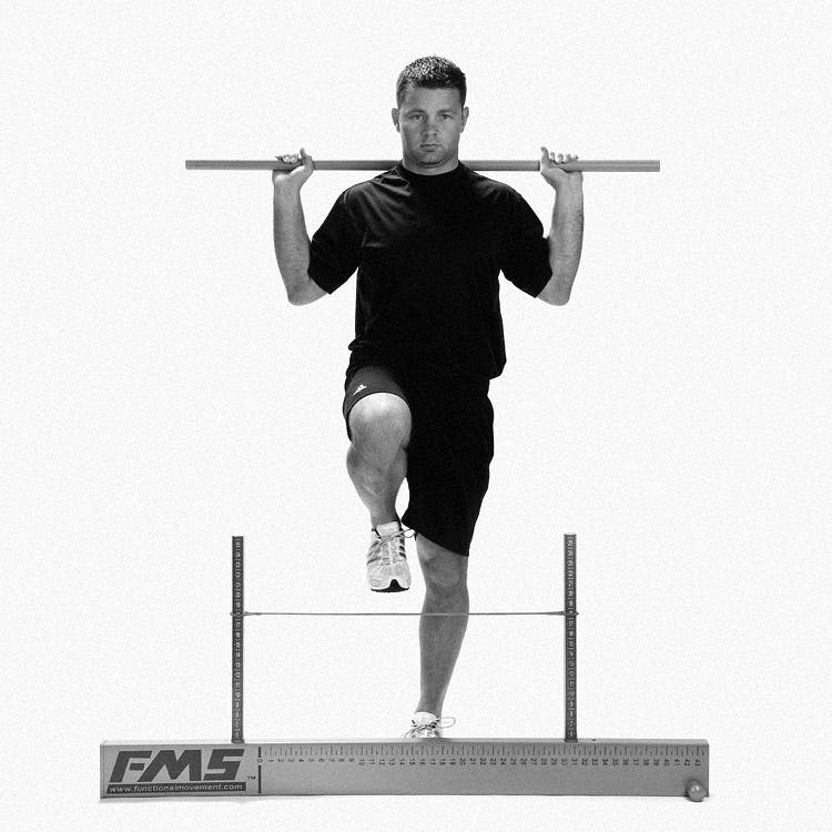 Hurdle Step - Front