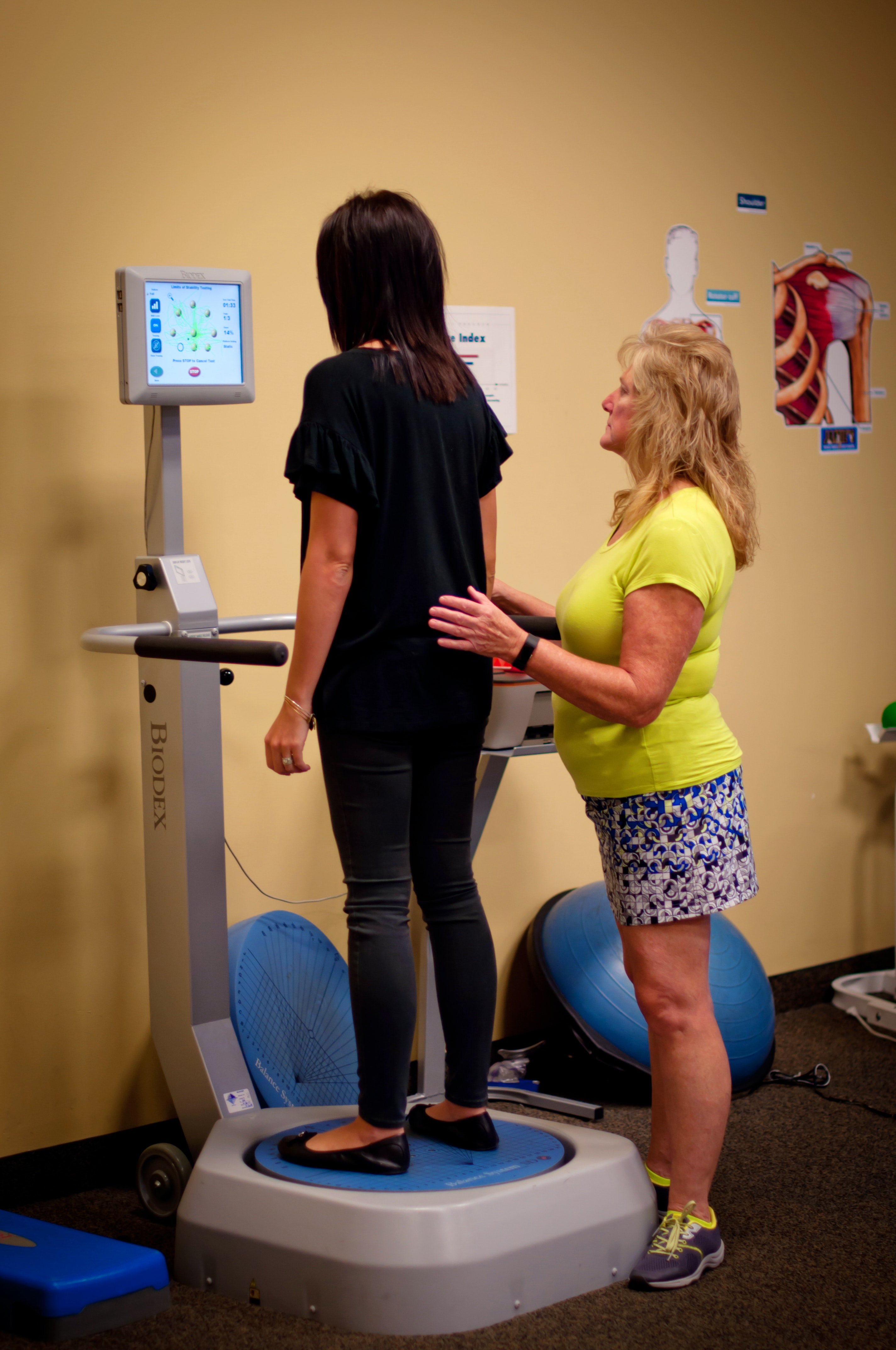 Jamie's Physical Therapy, Biodex