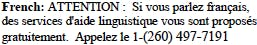 French Tagline