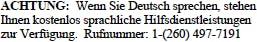 German Tagline