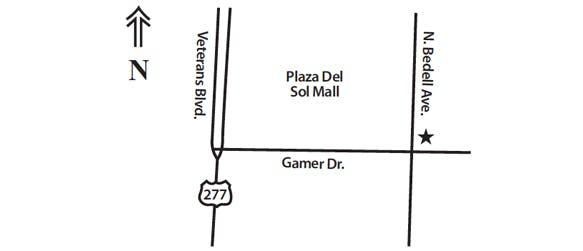 Del Rio Map