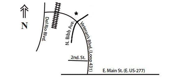 Eagle Pass Map