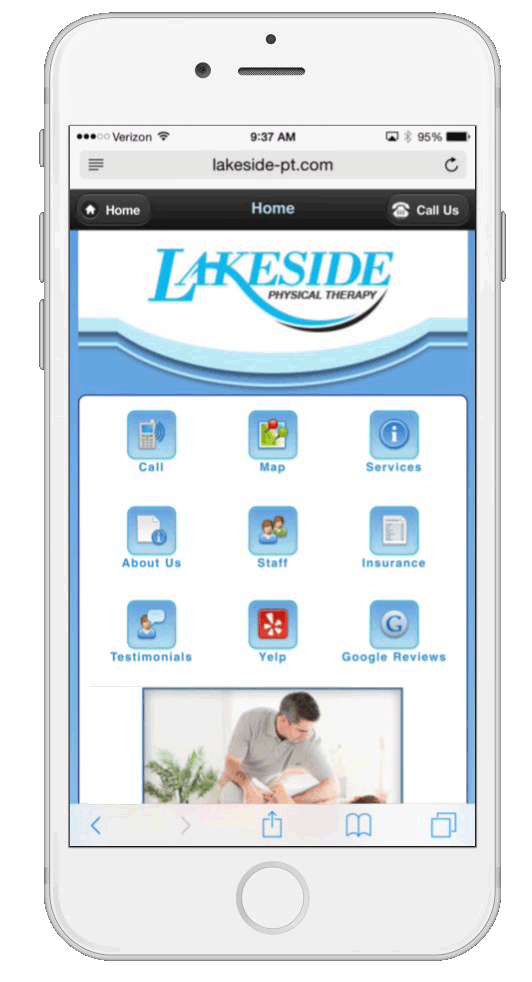 physical-therapy-mobile-website