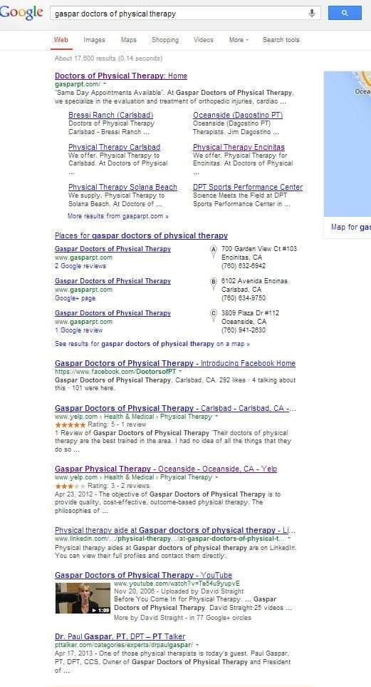 Good Search Marketing Results