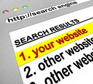Search Engine Results - Your Site Number One