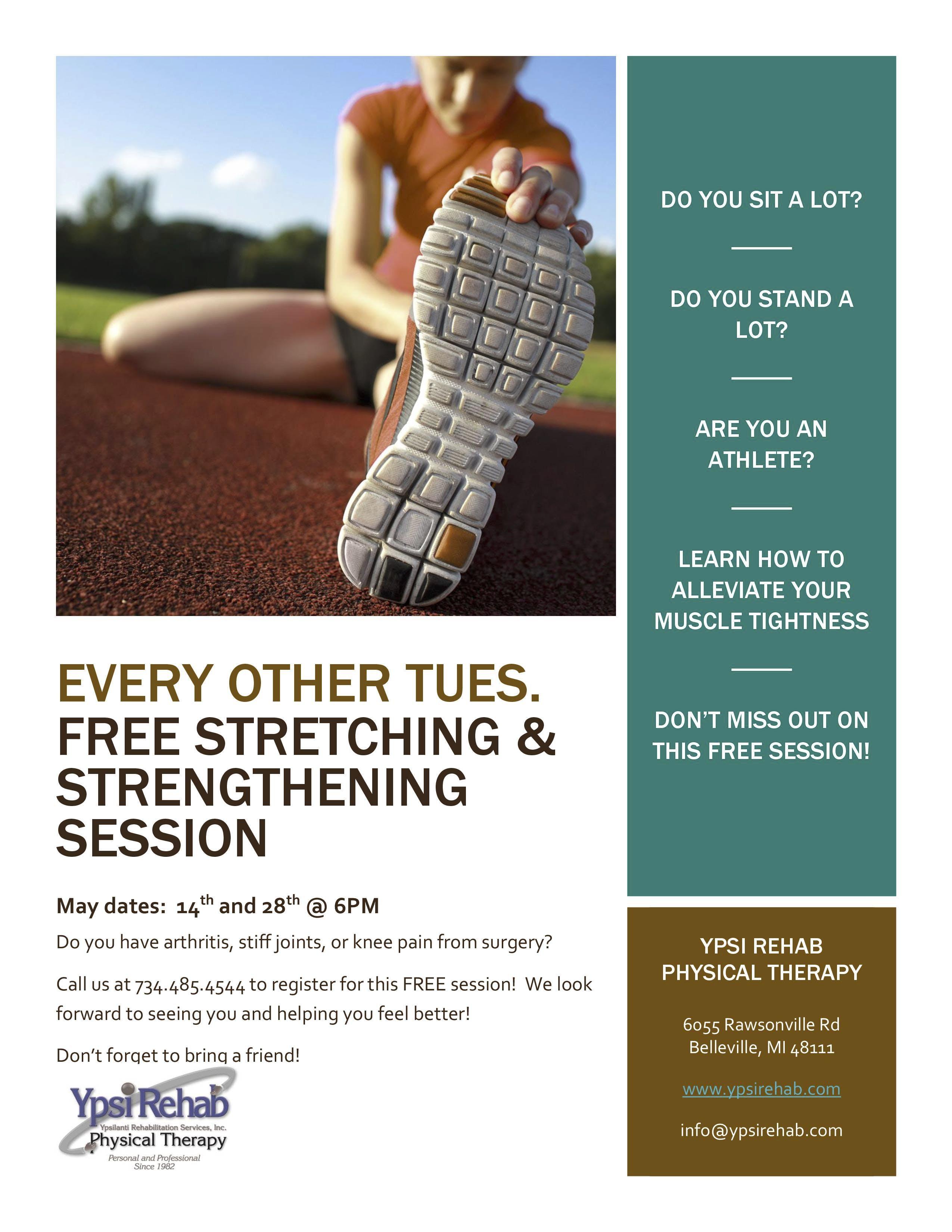 Stretching & Strengthening Class