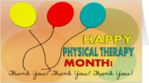 Happy Physical Therapy Month