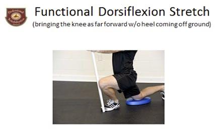 Functional Dorsiflexion Stretch