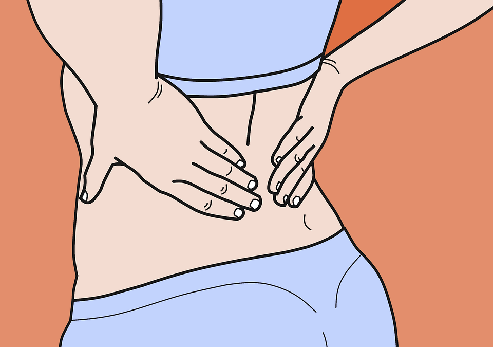 How is lower back pain categorized?