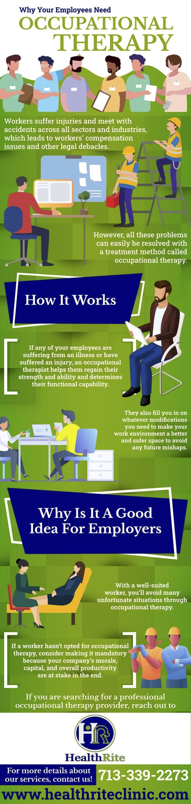 Why Your Employees Need Occupational Therapy