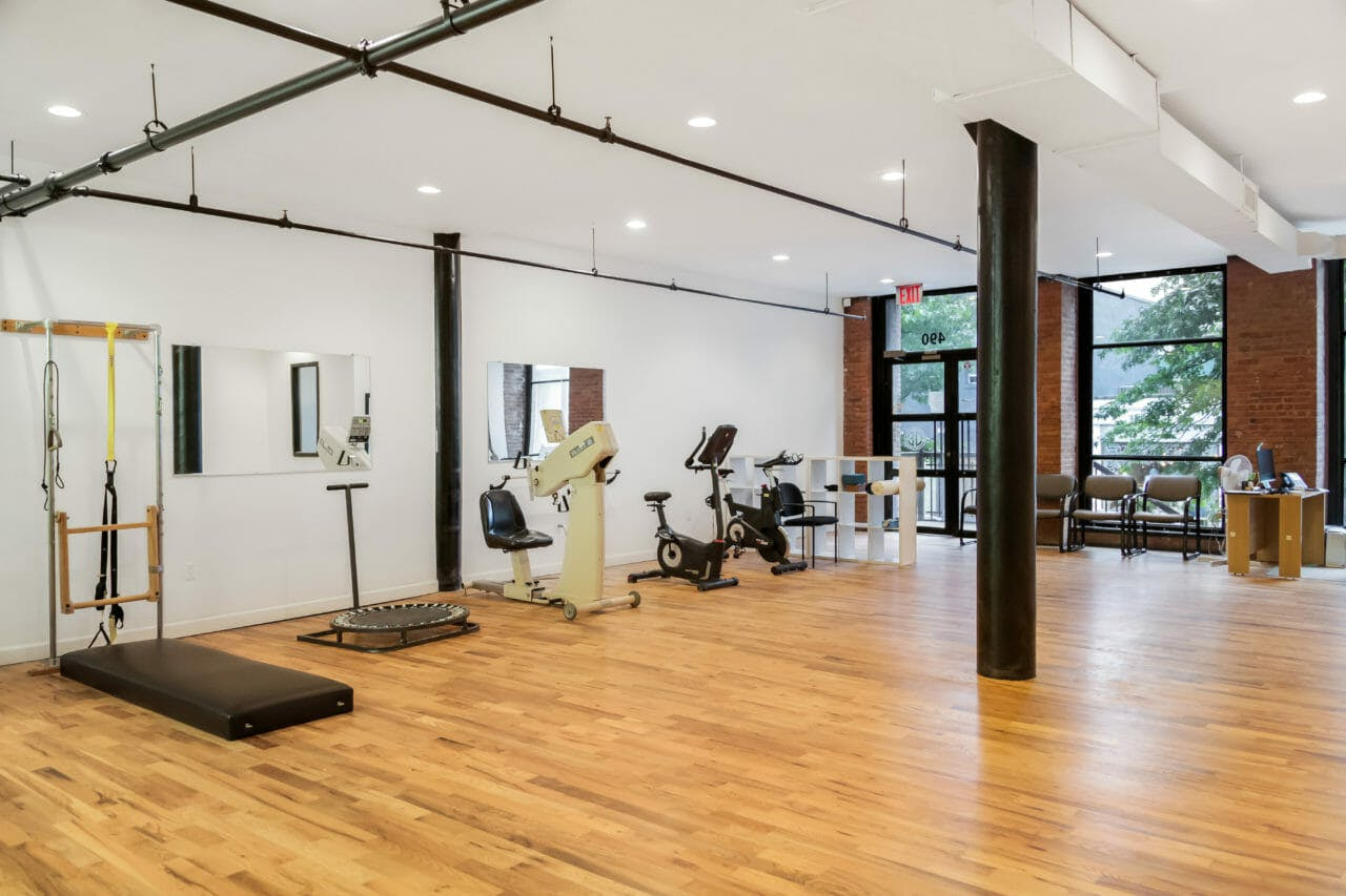 Our spacious exercise studio!