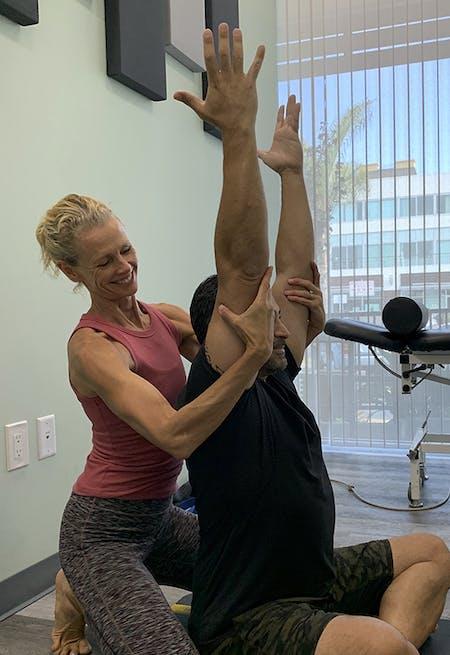 Malachi Grieves - Active Yoga Pose