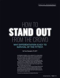 How to Stand Out from the Crowd - Why differentiation is key to survival of the fittest