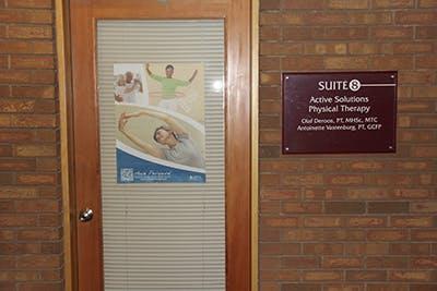 door to enter inside clinic