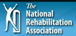LOGO NRA NATIONAL REHABILITATION ASSOCIATION