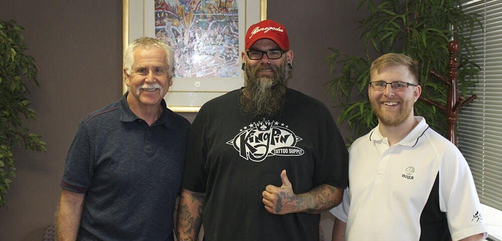 Dick, Al and Cody