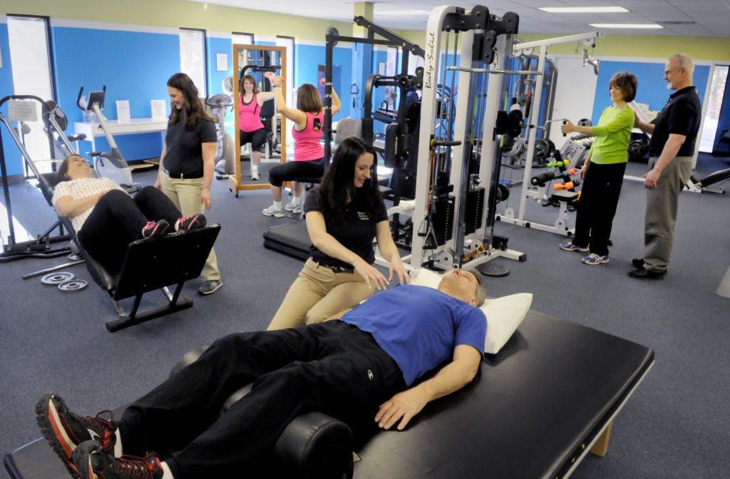 Spine and Orthopedic Rehab team