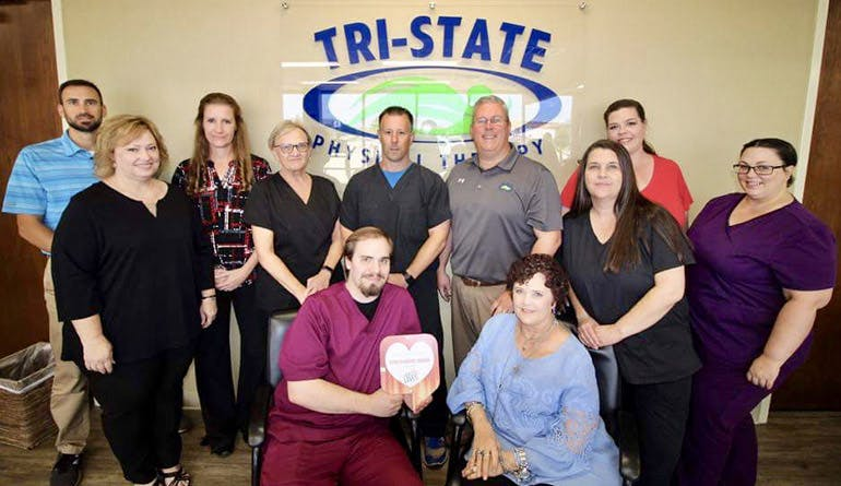 Staff from >Tri-State Physical Therapy in Shreveport & Bossier City<