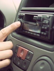 push button in car