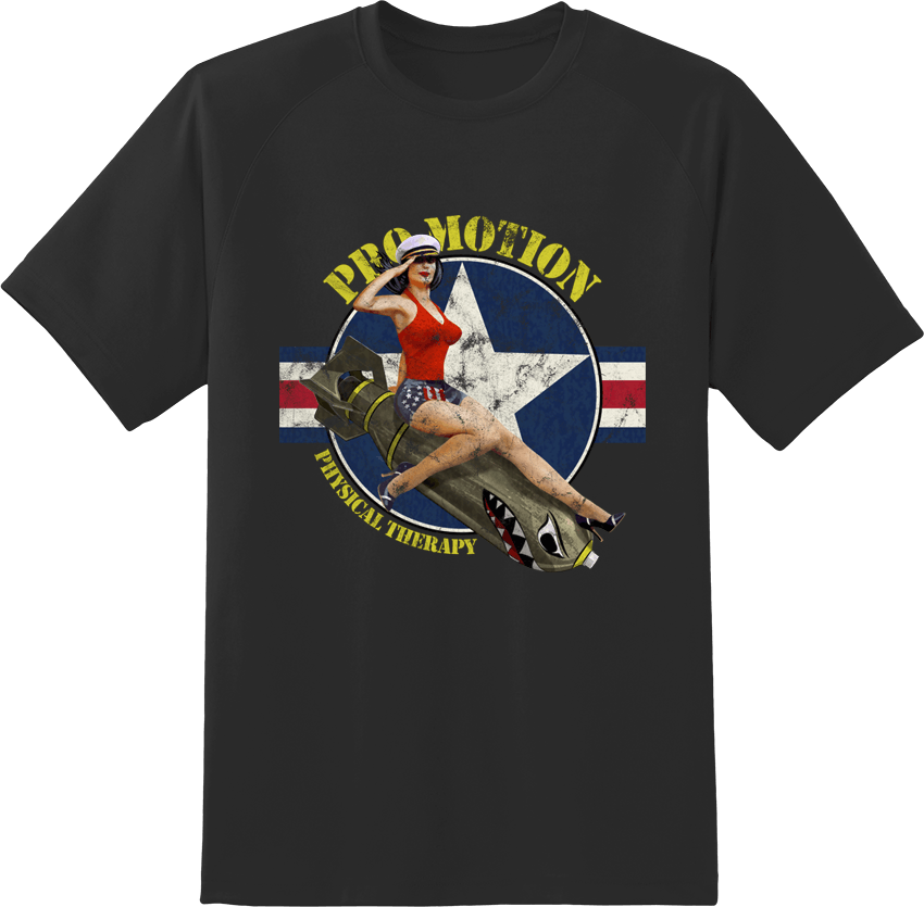Pro Motion Bomber Girl T-shirt