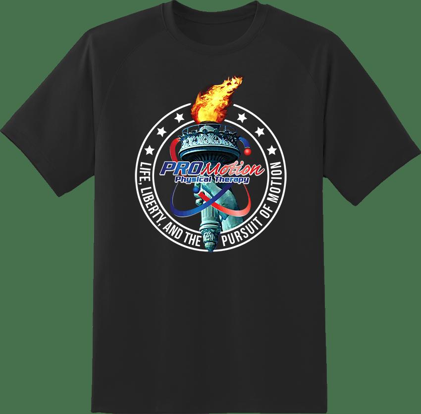 Pro Motion Liberty Torch T-shirt