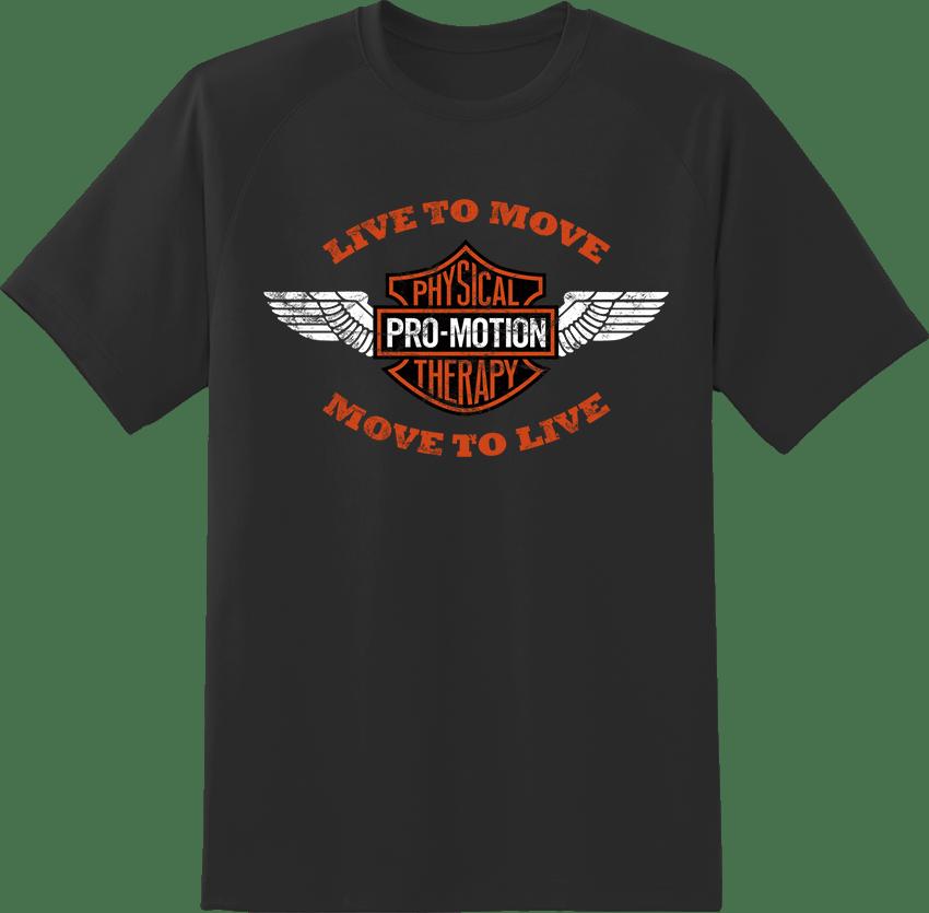 Pro Motion Moto Crest T-shirt