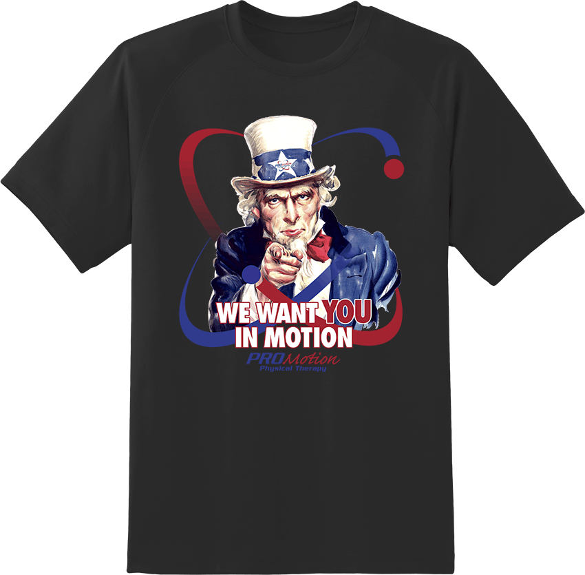 Pro Motion Uncle Sam T-shirt