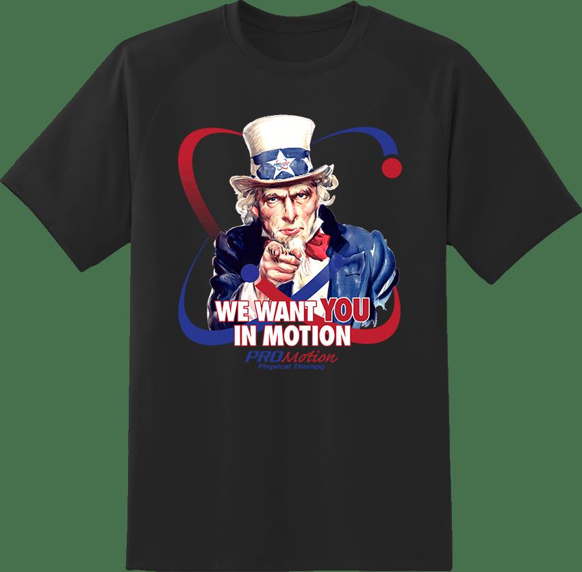 Pro Motion Uncle Sam T-shirt