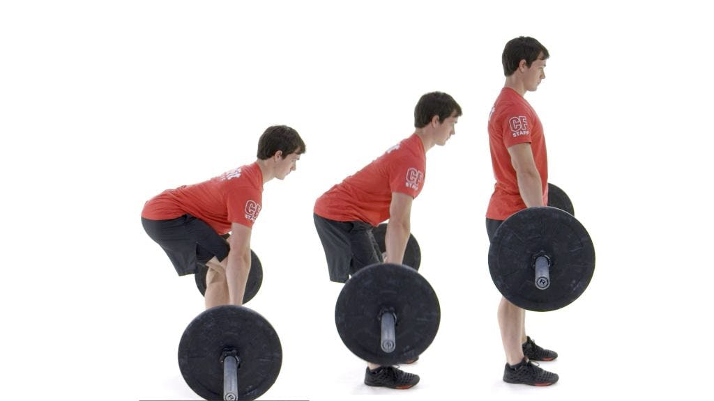 Deadlift low back pain
