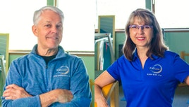 John Hendrickson, PT and Susan Klas, PTA