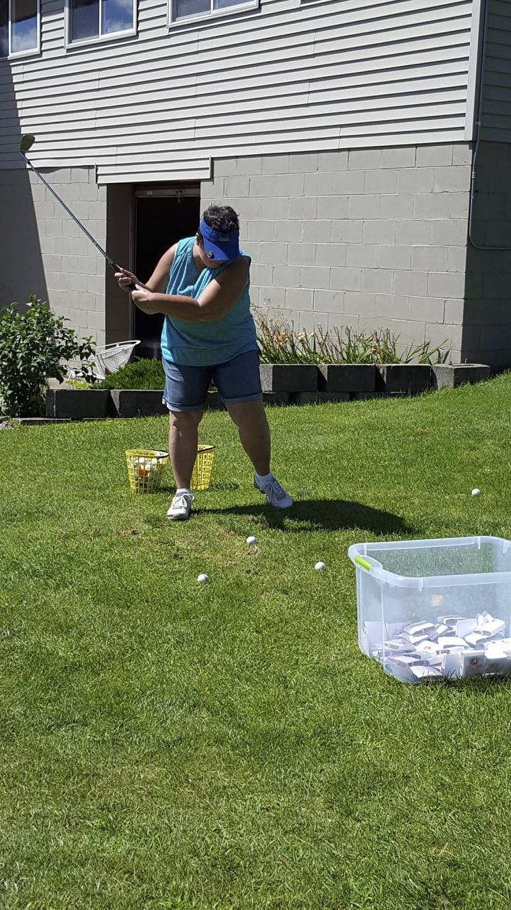 Clear Lake Lion's Club Golf Scramble; $310 Donation!