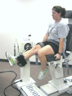 Isokinetic Knee Exercises