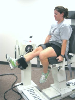 Isokinetic Knee Exercises
