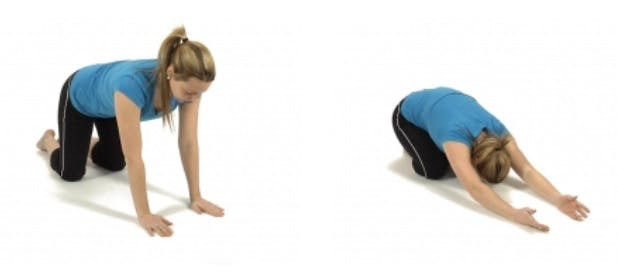 physiotherapy lats stretch