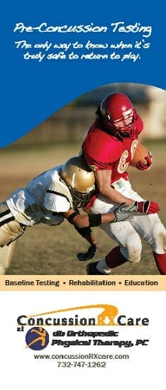 Download our concussion management brochure