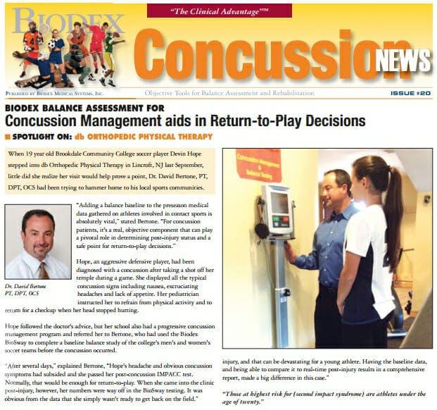 Concussion News