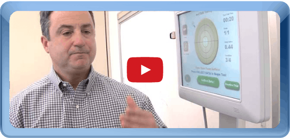 Click here to watch db Orthopedic Baseline Concussion Testing video