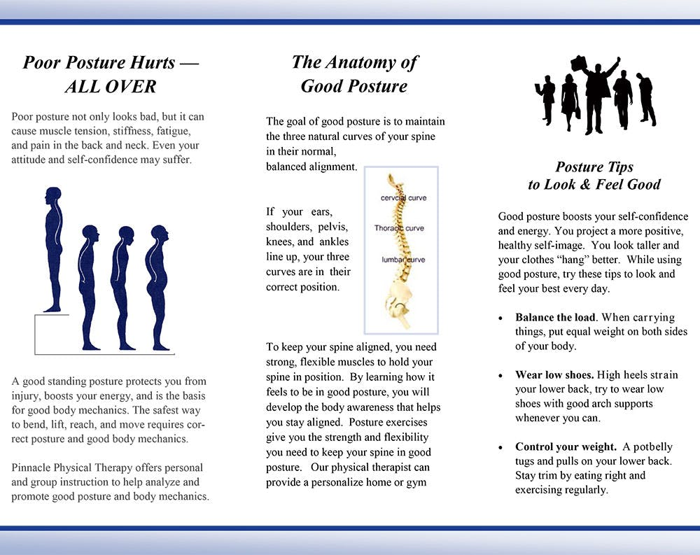 Brochures   Pinnacle Physical Therapy   Angels Camp CA
