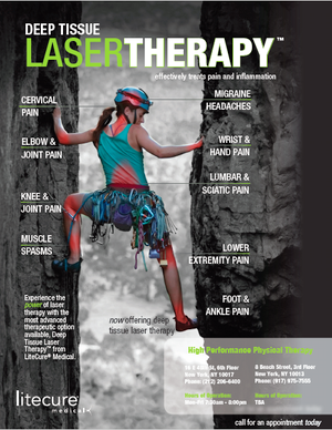 Flyer: Deep Tissue Laser Therapy
